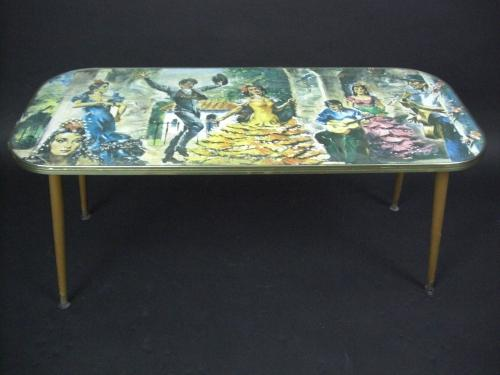 Retro Coffee Table - Flamenco!
