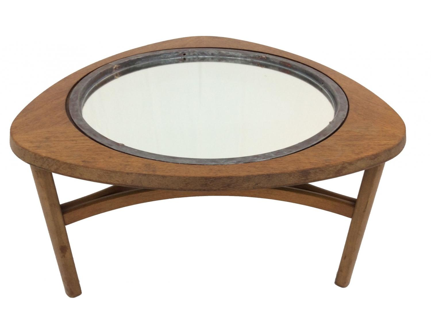 Nathan Table with Porthole Mirror