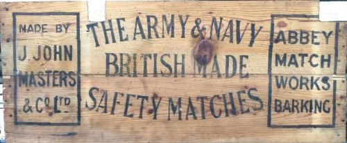 Vintage Wooden Signage