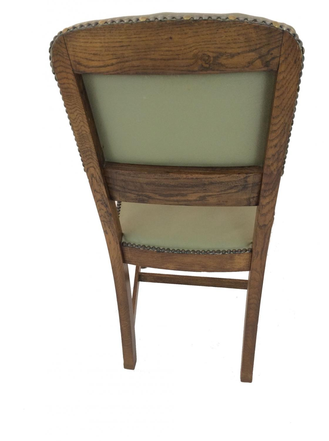 Oak and sage painted gateleg table and chairs in sold recently - Gateleg table with chairs ...