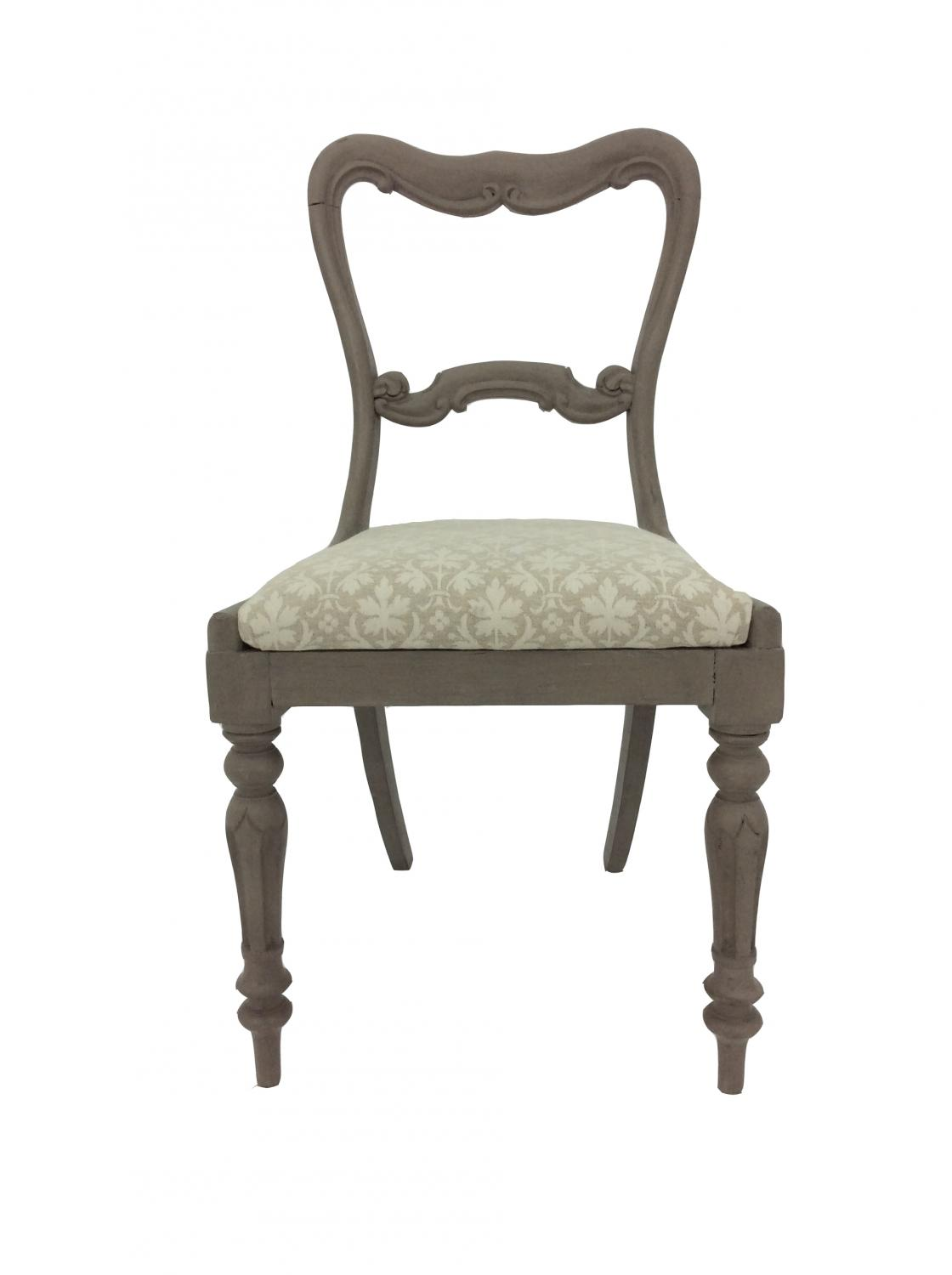 Painted Regency Traditional Chair