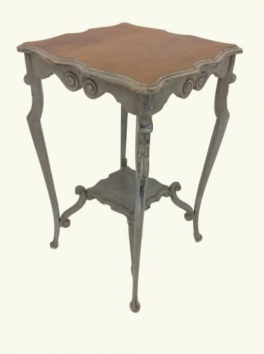 Mahogany Painted Occasional Table