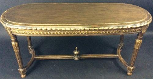 Louis XVI style Giltwood table