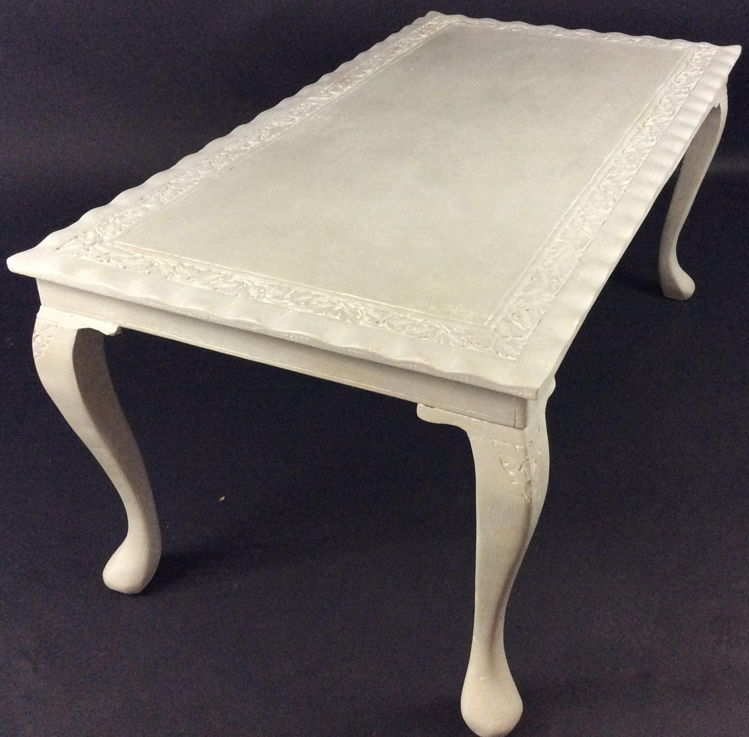 Queen Anne style Painted Coffee Table in SOLD RECENTLY