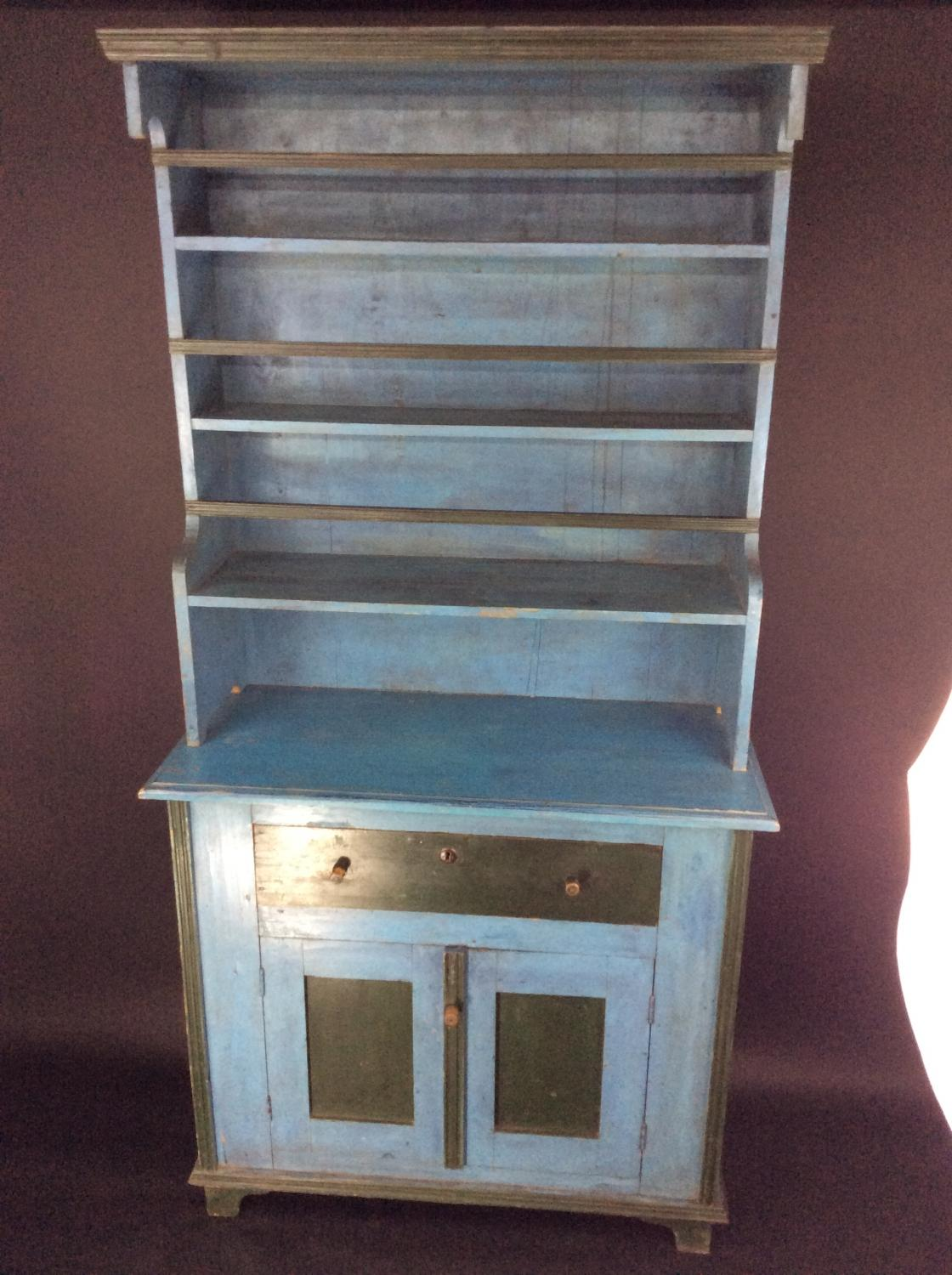 Unusual French painted Dresser