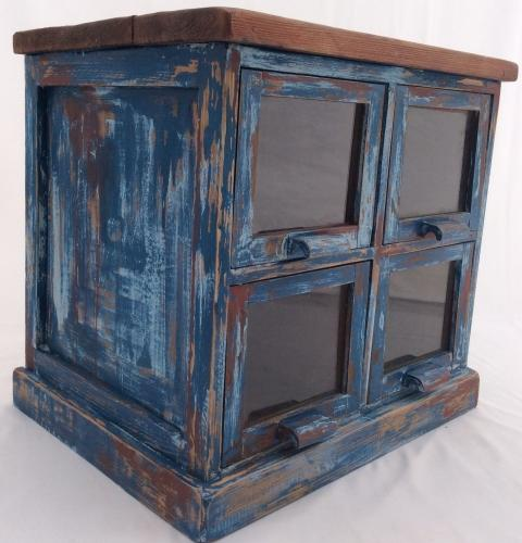 Industrial Glazed Drawer Unit