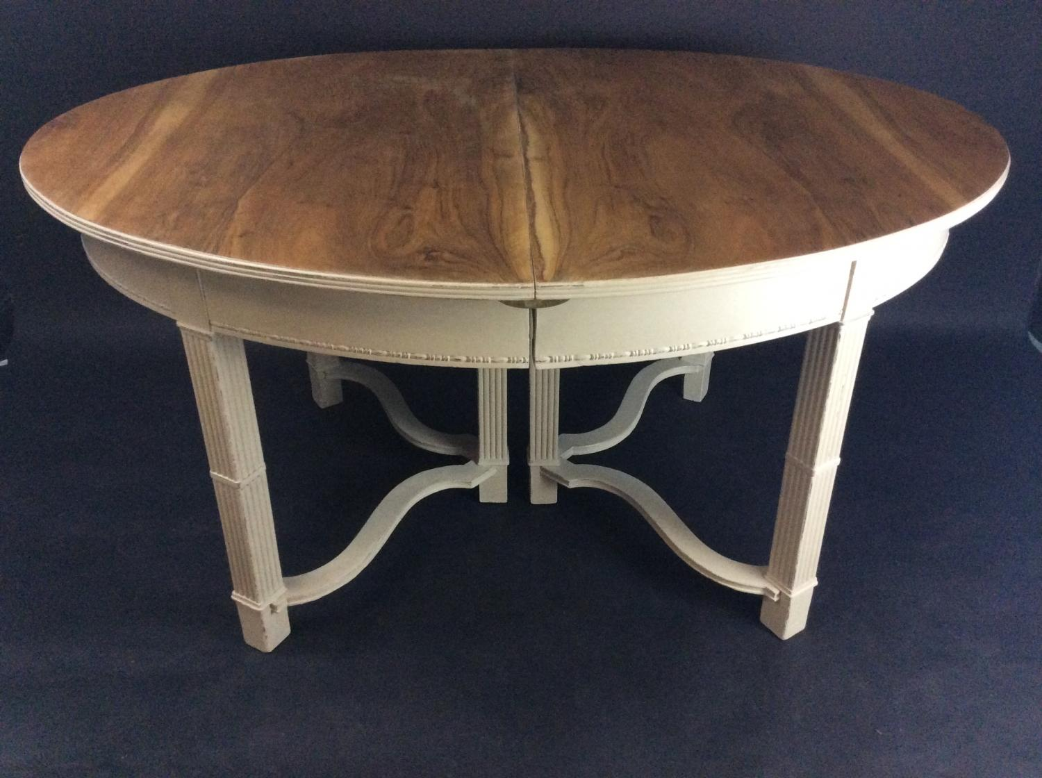 Painted Waring & Gillow Dining Table