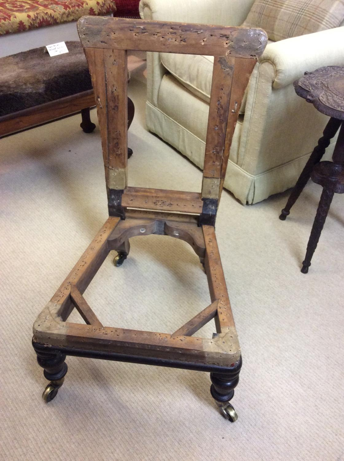 victorian nursing chair in tweed picture 6 - Nursing Chair