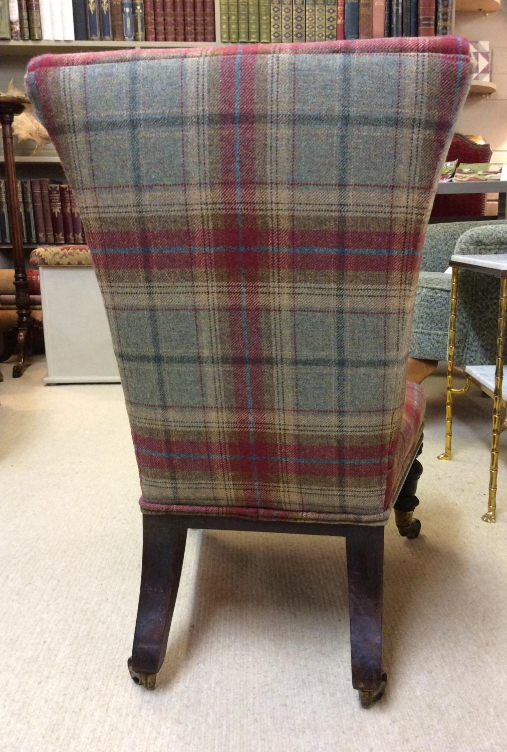 victorian nursing chair in tweed picture 8 - Nursing Chair