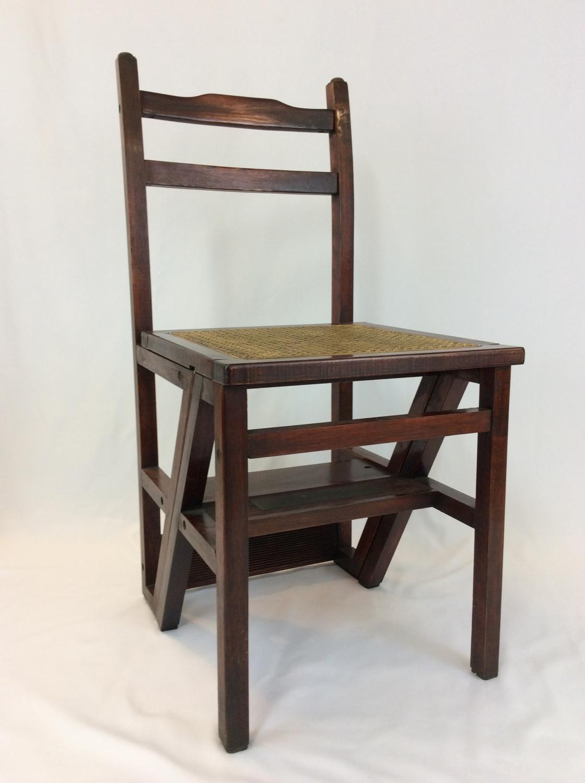 Metamorphic Library Step Chair