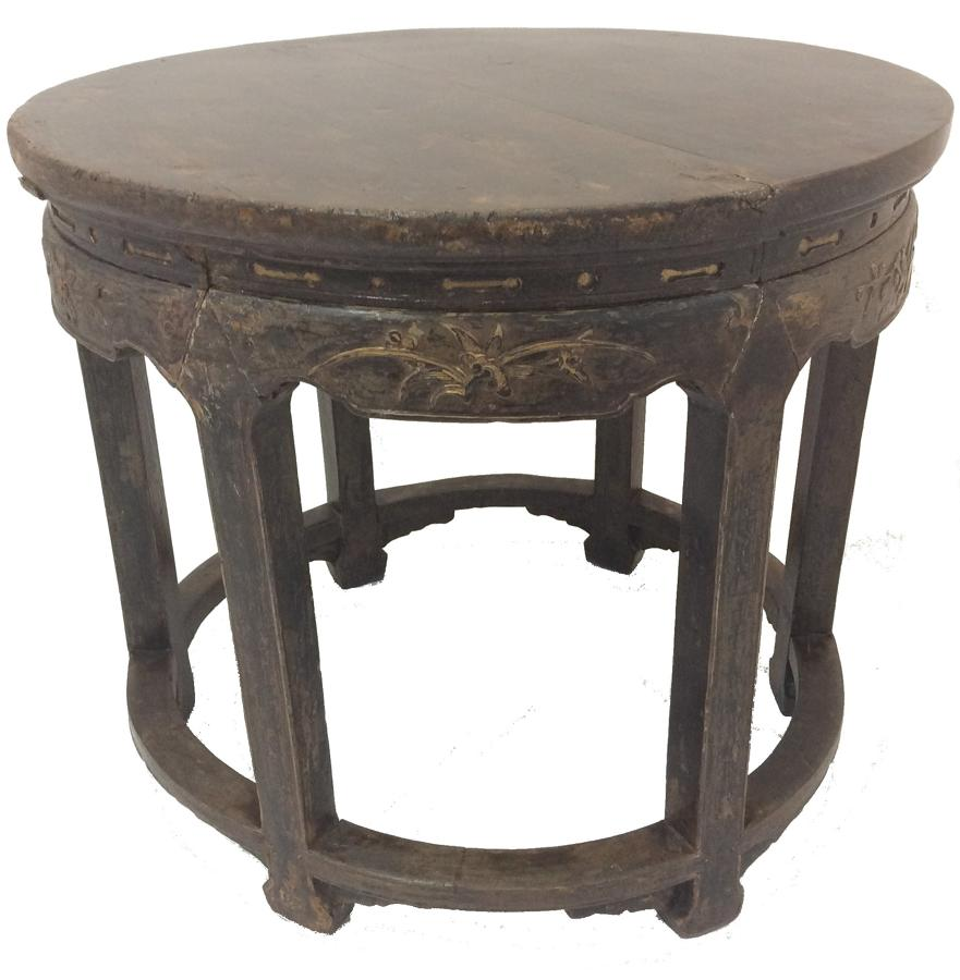 Chinese occasional circular table