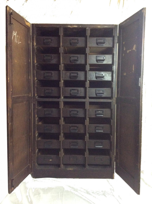 Vintage Shopfitting Cupboard Bakelite handles