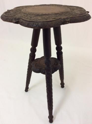 Anglo-Indian Walnut side Table