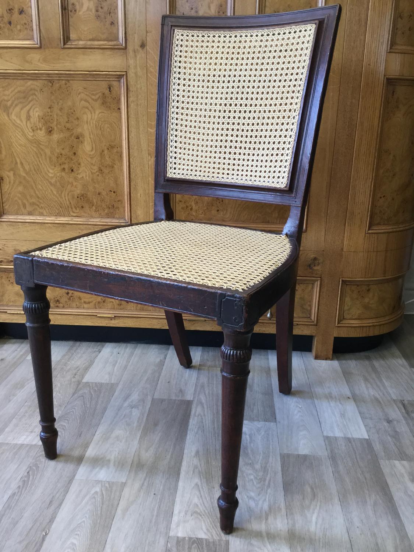 Regency Cane Chair