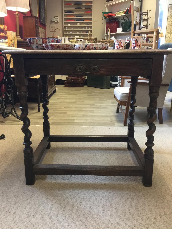 18th Cent Oak Console Table