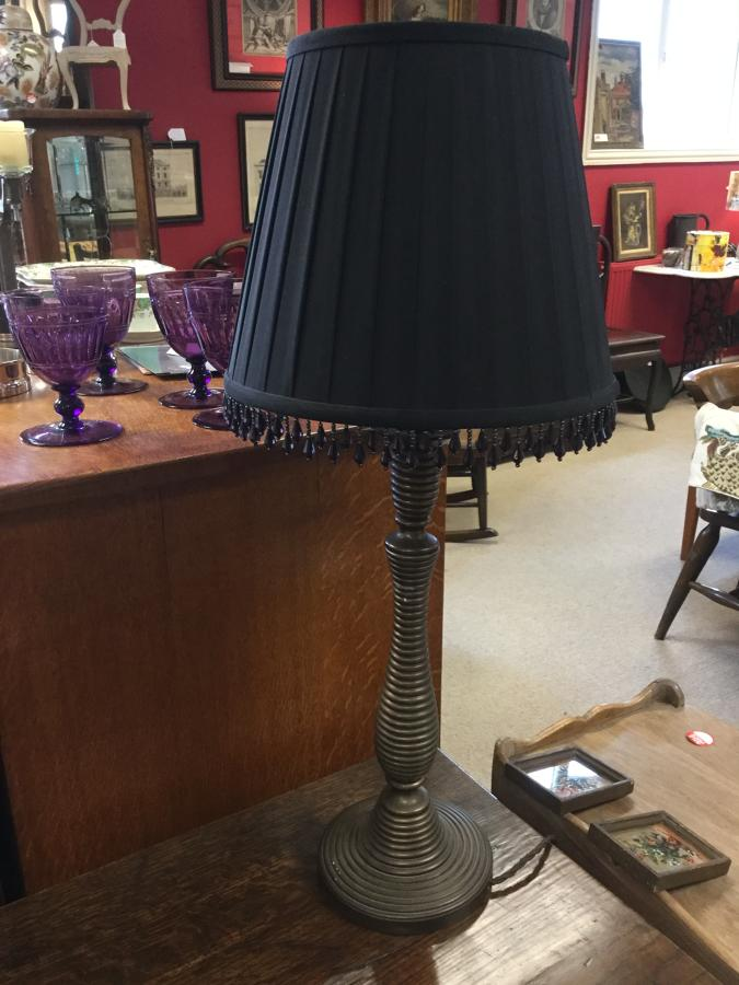 Beehive Brass Vintage Lamp