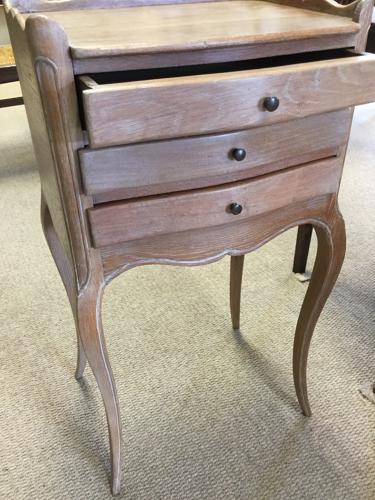 French Louis-Style Bedside Table