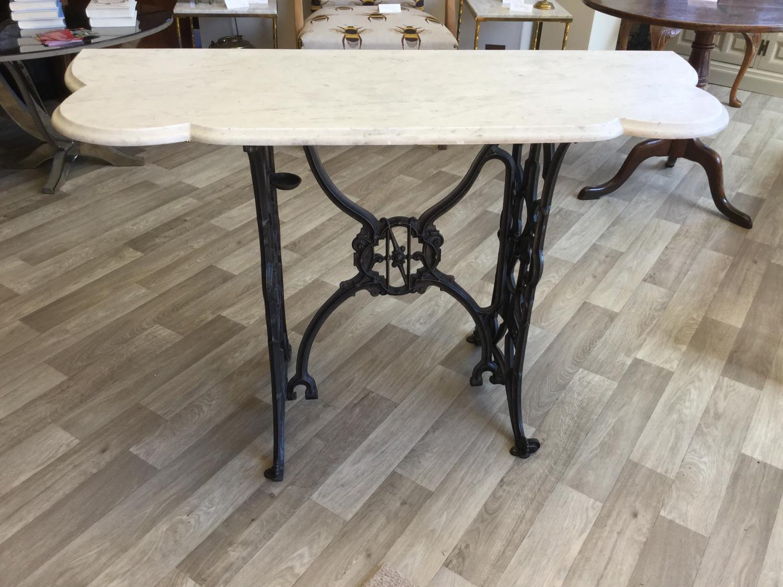 Marble Naumann Sewing Machine Table