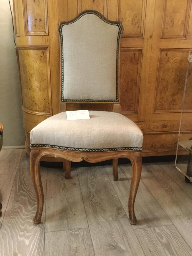 Pair of Reupholstered French Chairs