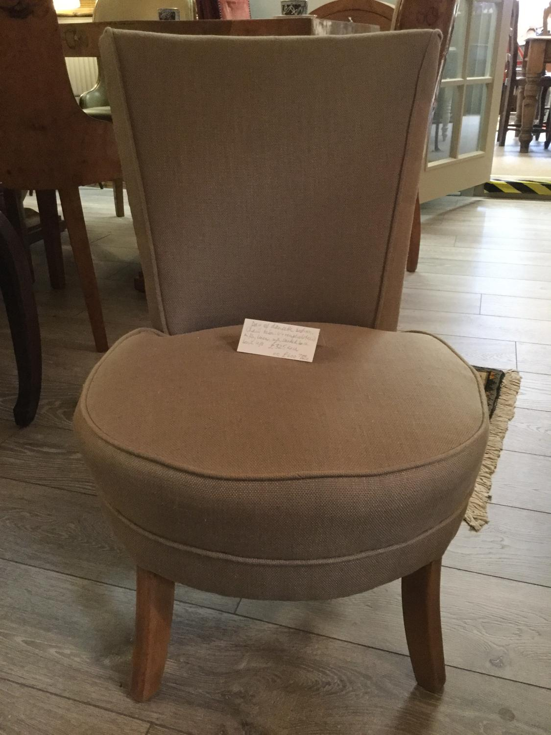 Pair of Dansette Bedroom Chairs