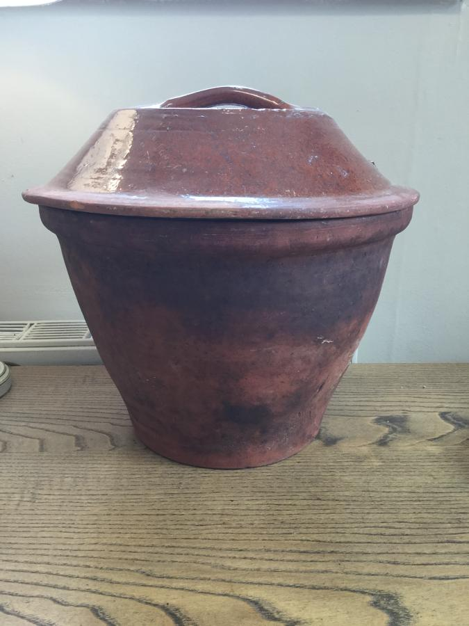 Victorian Terracotta Crockpot
