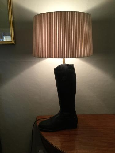 Pair of Riding Boot Lamps