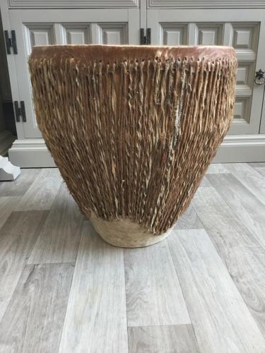 African Goatskin Drum