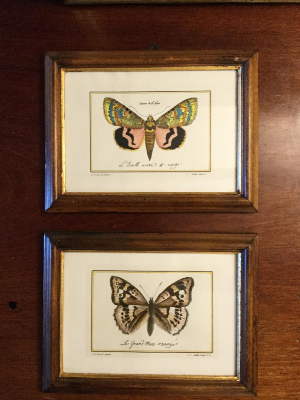 Pair of Jacques Juillet Engravings