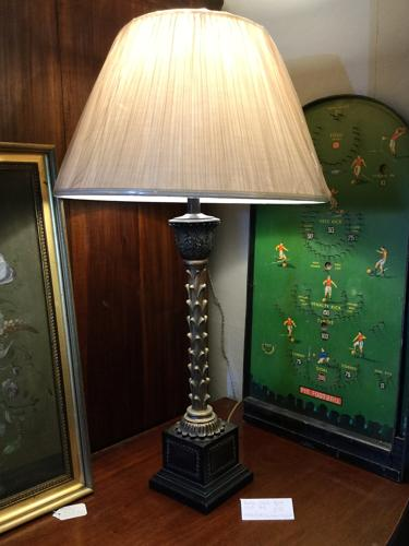 Black and Gilt Lamp