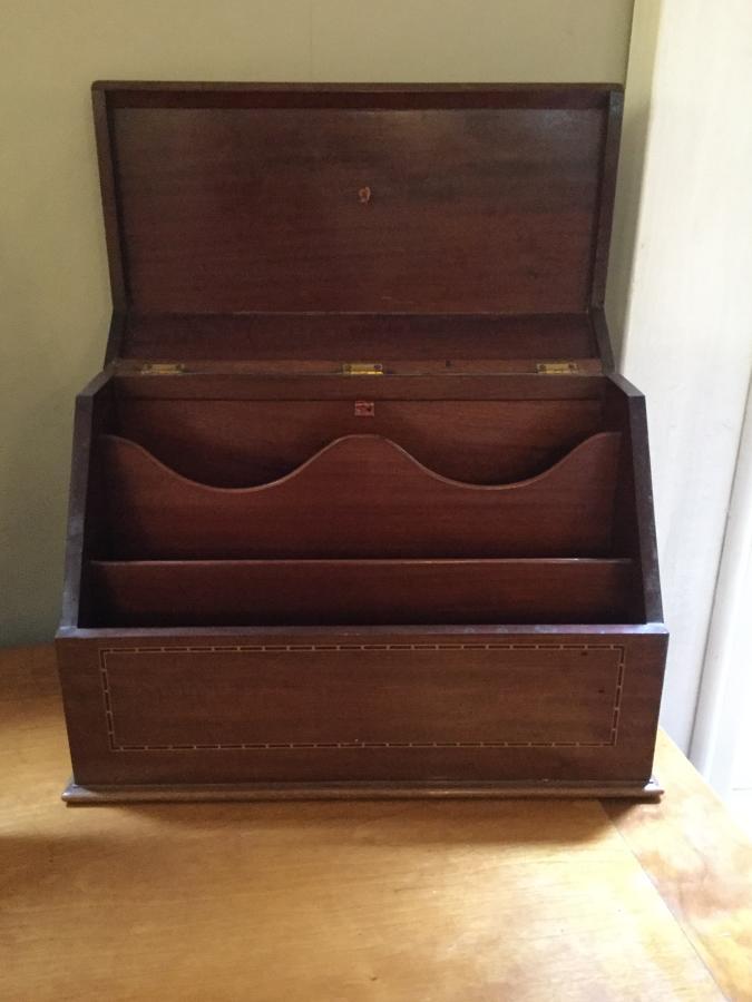 Mahogany Letter Box