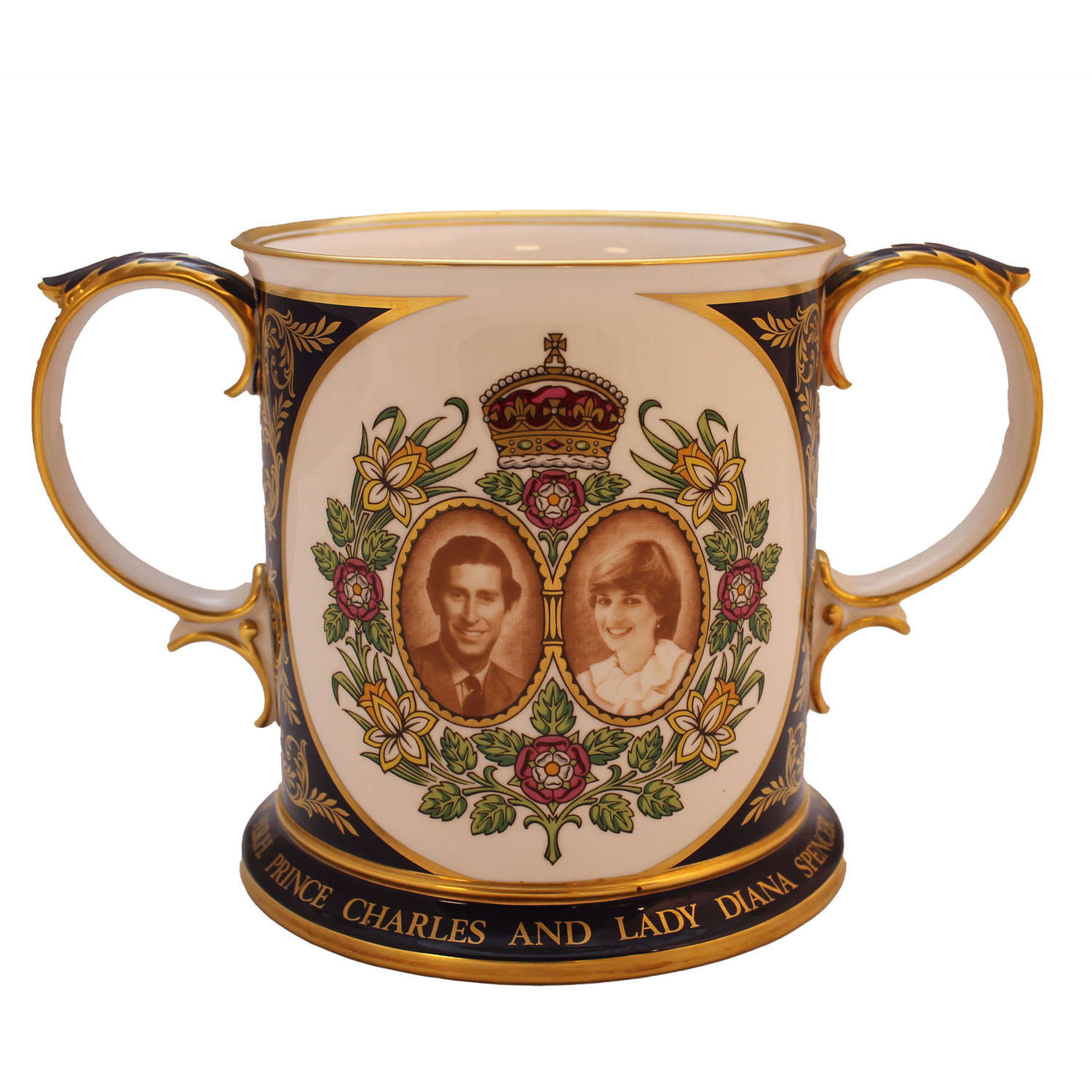 The Royal Wedding Loving Cup- Prince Charles and Lady Diana