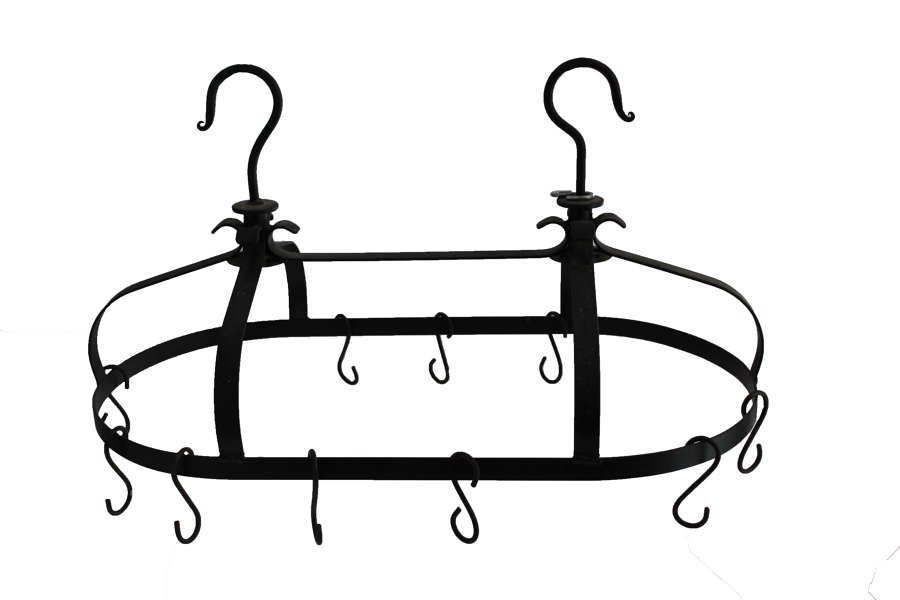 Cast Iron Pot Hanging Rail