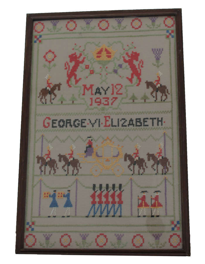 George VI Coronation Sampler