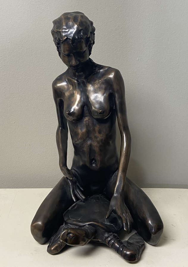 Tom Bowers Bronze Sculpture