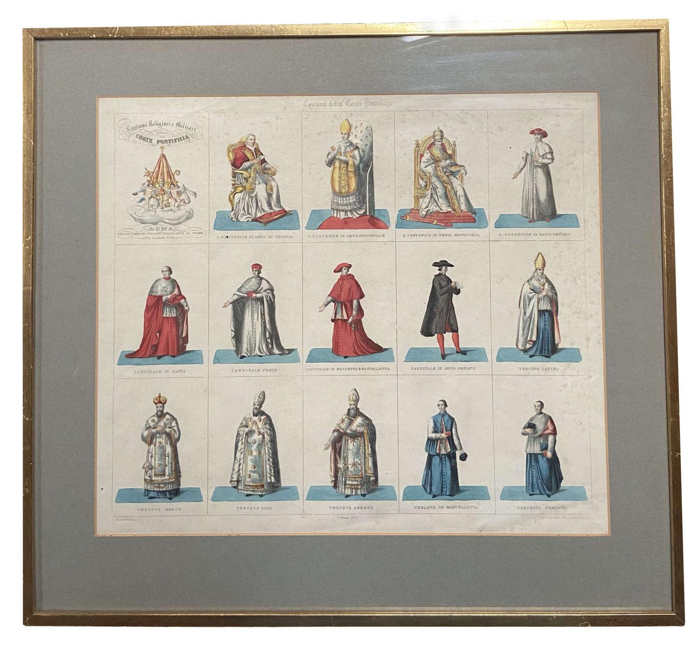 Papal Uniforms