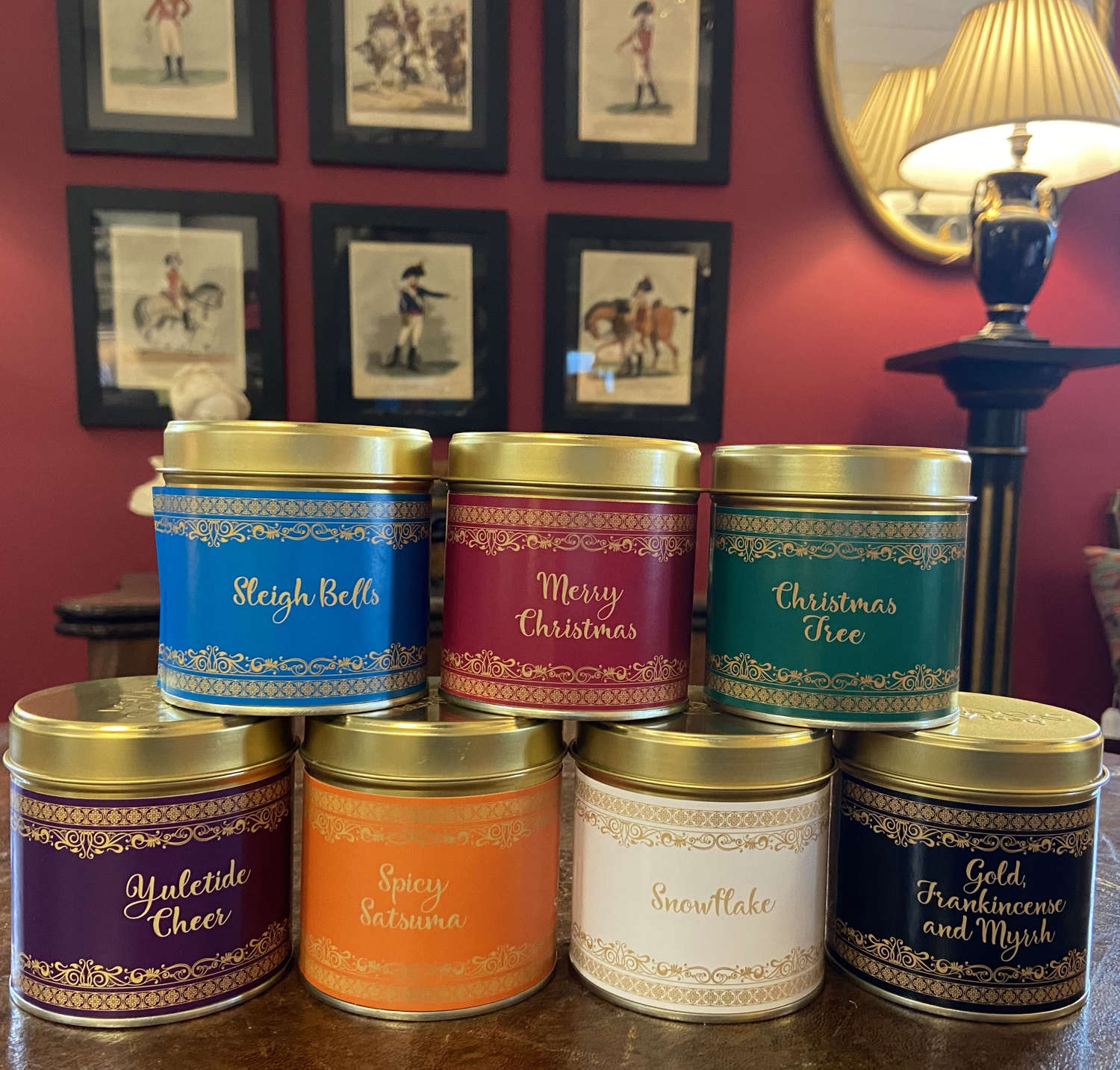 Scented Candles in a tin