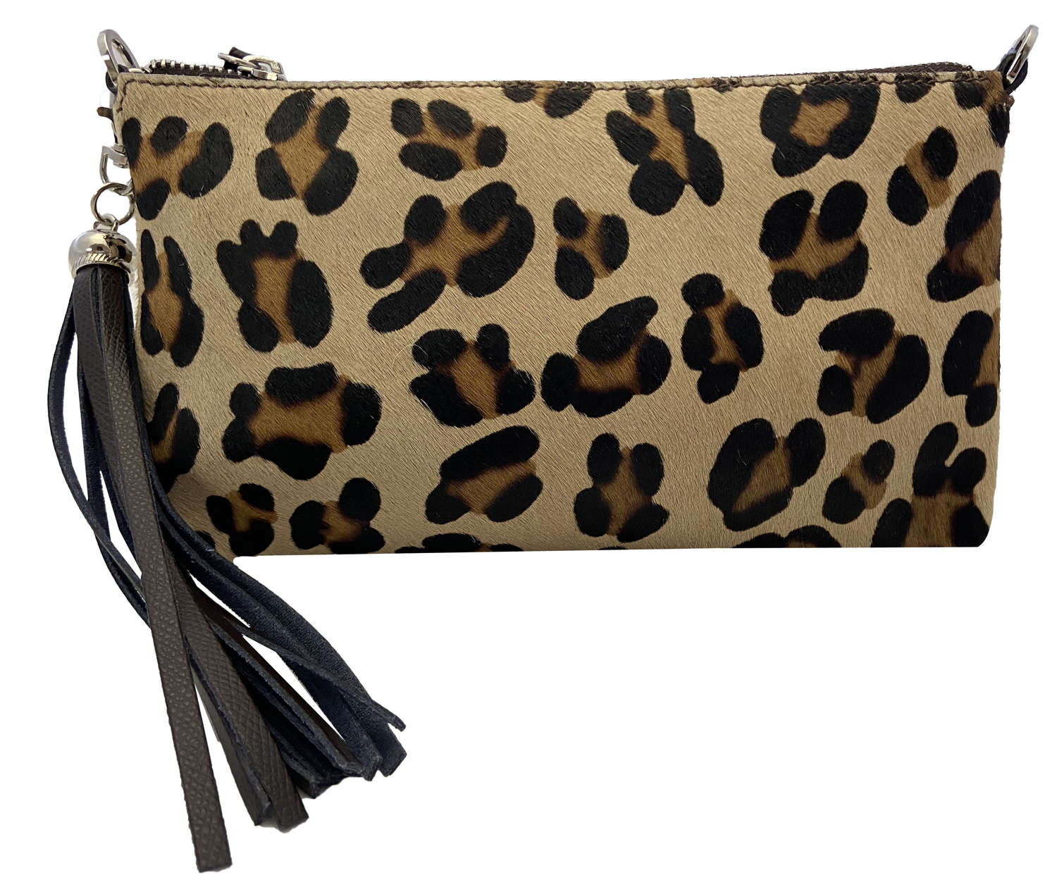 Furry/Leather Clutch Bags