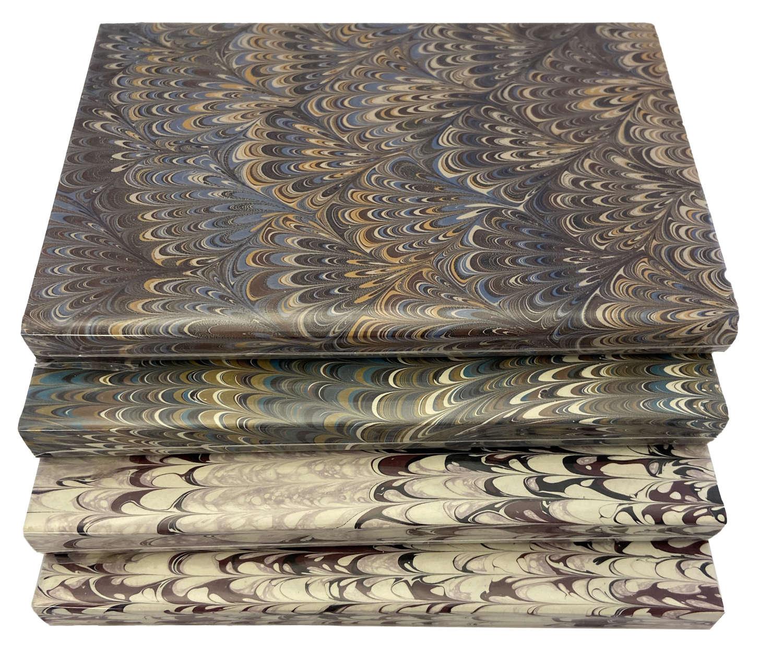 Handmarbled Notebooks