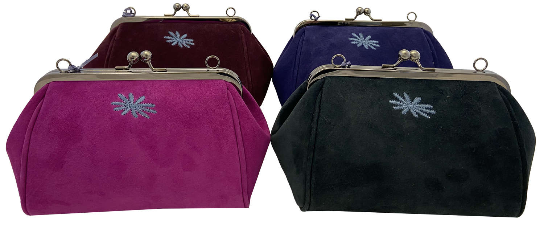 Sweet Pea Suede Handbags