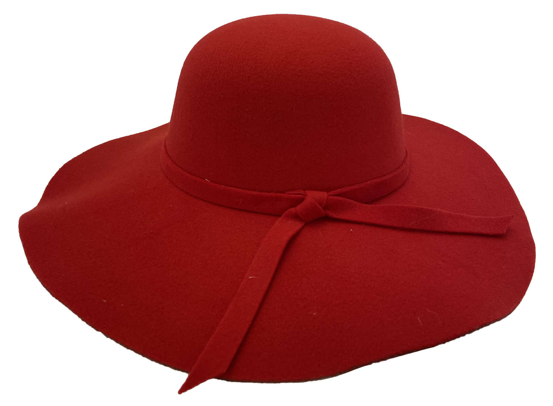 Wide-brimmed Felt Hats