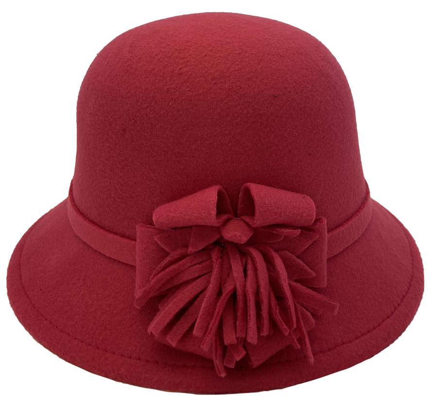 Felt Cloche Hats