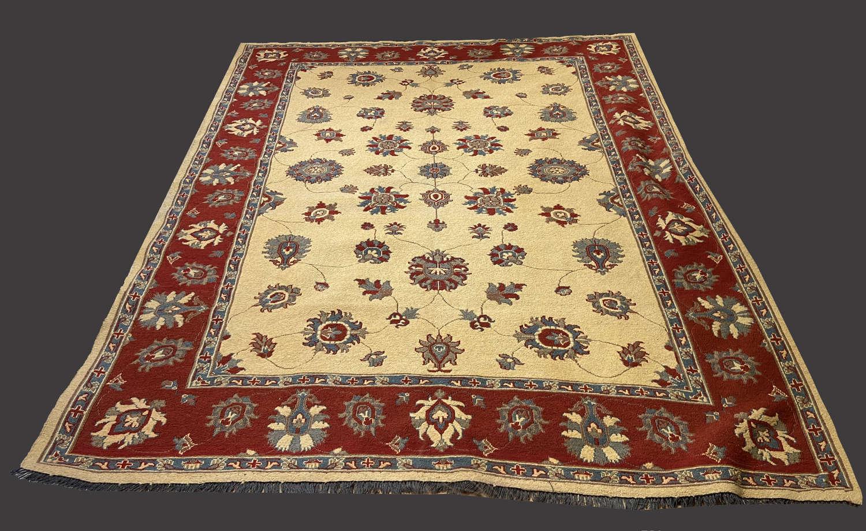Fabulous Somak rug in unusual tones