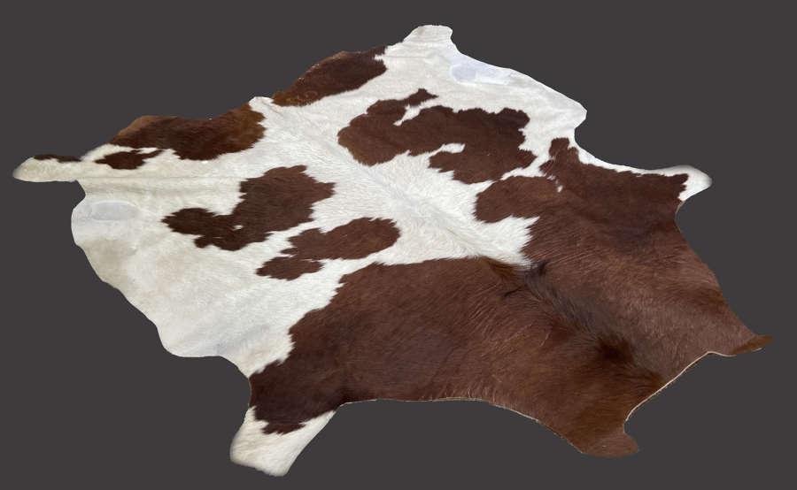 Large cowhide rug